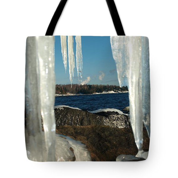 Tote Bag featuring the photograph Window Into Minnesota by James Peterson