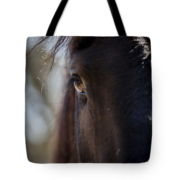 Window Into The Gentle Giant's Soul Tote Bag
