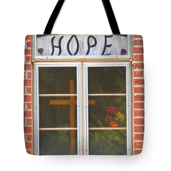 Window Of Hope 2 Tote Bag by James BO  Insogna