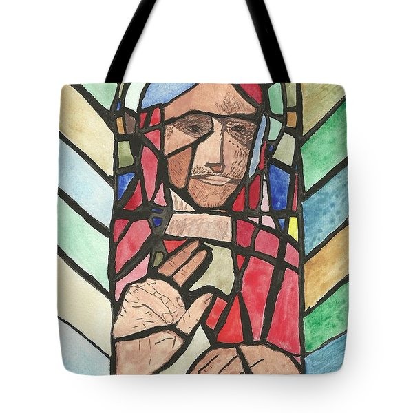 Window Of Peace Tote Bag by Tracey Williams