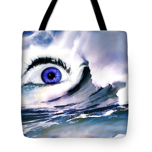 Window Of Your Soul Tote Bag