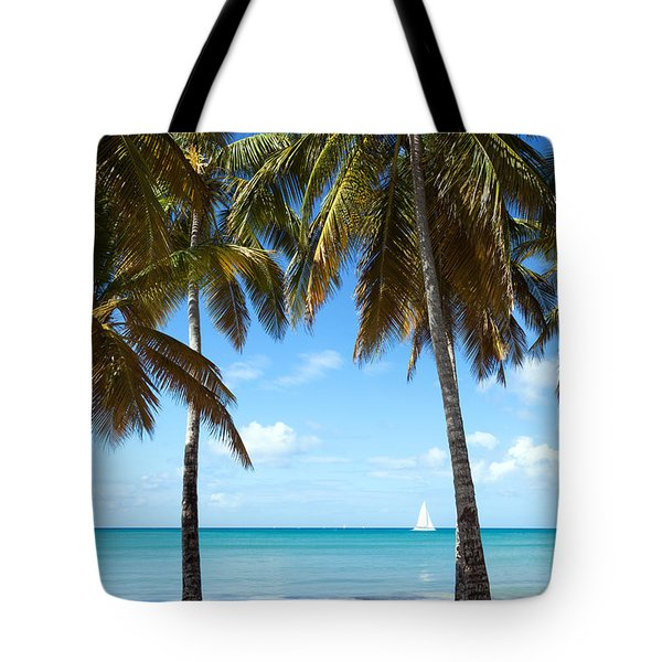 Window On The Caribbean Tote Bag by Matteo Colombo