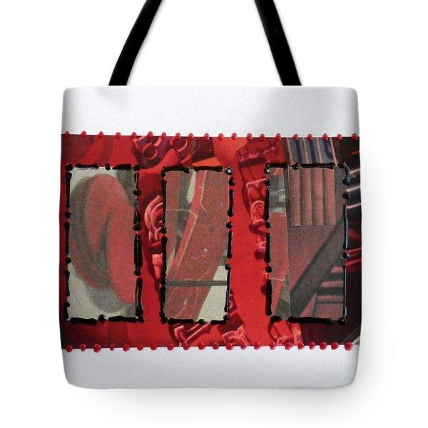Window Panes Tote Bag