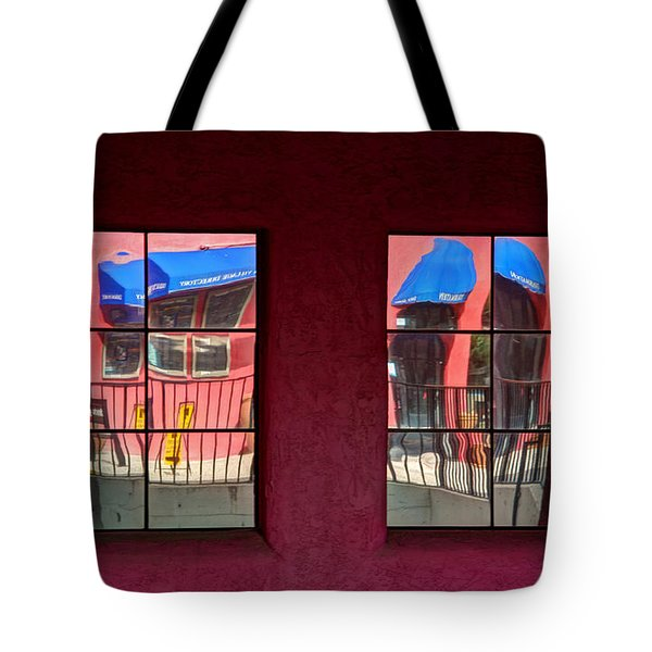 Window Reflections Tote Bag by Vivian Christopher