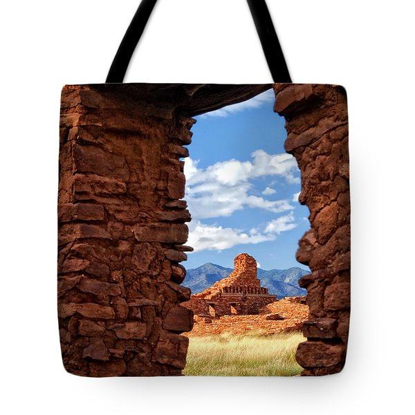 Window To Abo Tote Bag