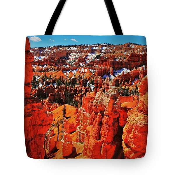 Window To Bryce Tote Bag by Benjamin Yeager