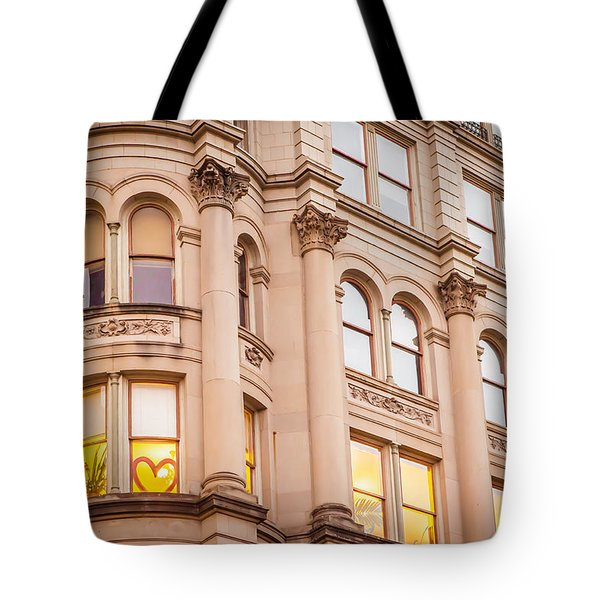 Window To My Heart Tote Bag