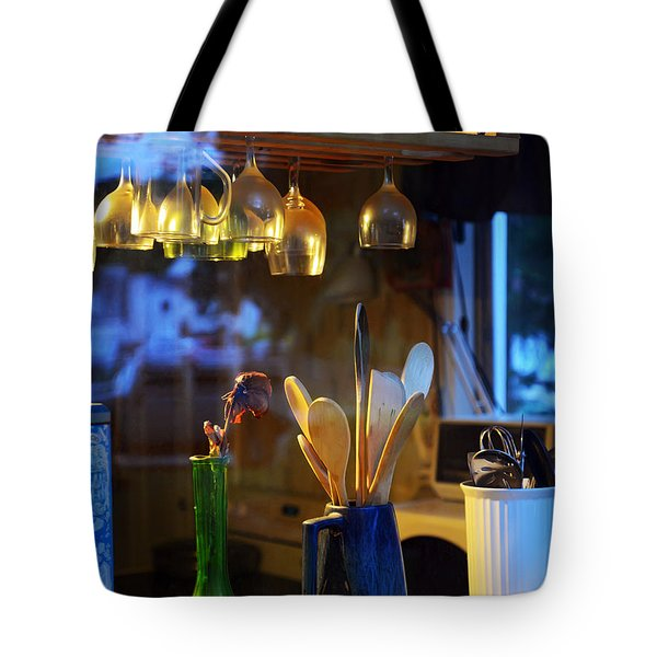 Window To My Kitchen Tote Bag by Brian Wallace