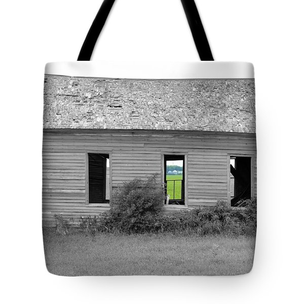 Window To The Future Tote Bag by Bonfire Photography