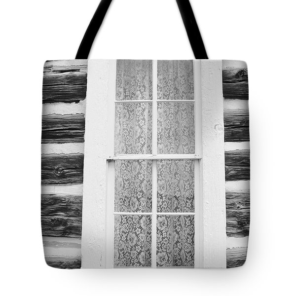 Tote Bag featuring the photograph Window To The Old West by Diane Alexander