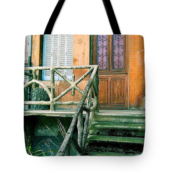 Tote Bag featuring the photograph Windows And Doors 25 by Maria Huntley