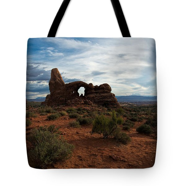 Windows At Sunset Tote Bag by Stephen  Johnson