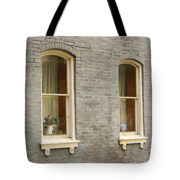 Windows Tote Bag by Jean Goodwin Brooks