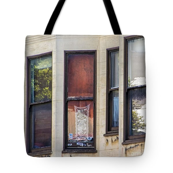 Tote Bag featuring the photograph Windows by Kate Brown
