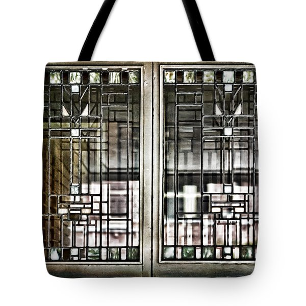 Windows Of A Prairie House  Tote Bag