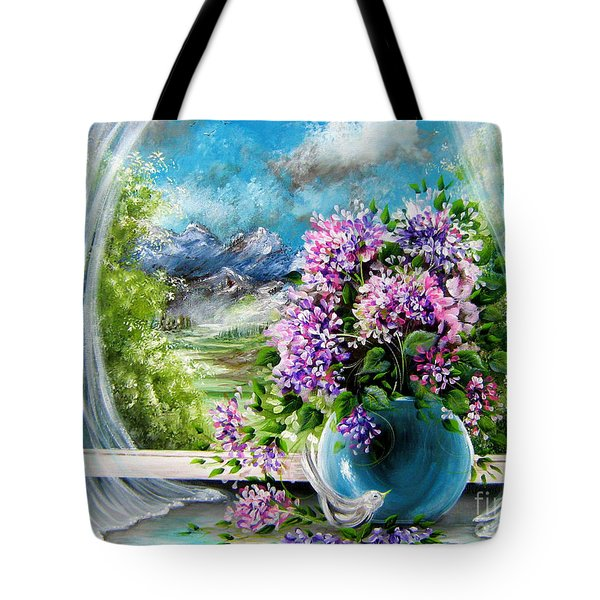 Windows Of My World Tote Bag