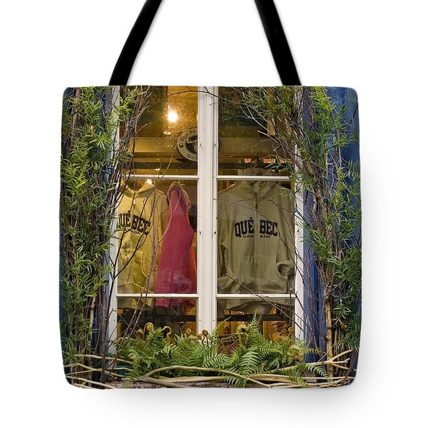 Windows Of Quebec 3 Tote Bag