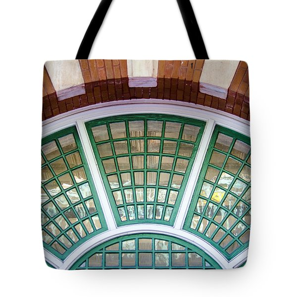 Windows Of Ybor Tote Bag