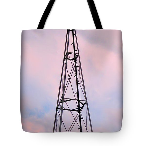 Tote Bag featuring the photograph Windpump by Brian Wallace