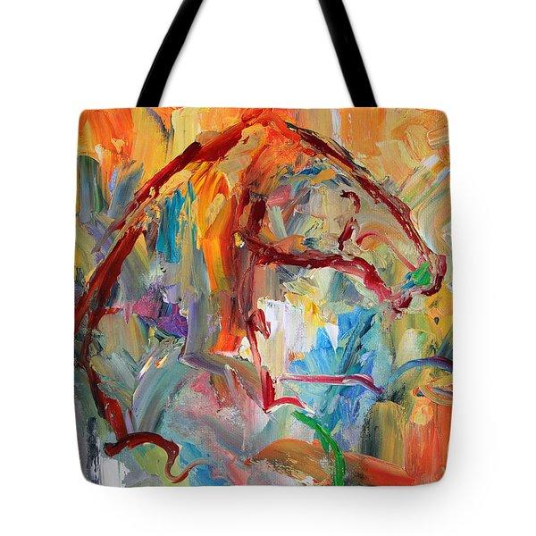 Windstorm  Horse  28 2014 Tote Bag