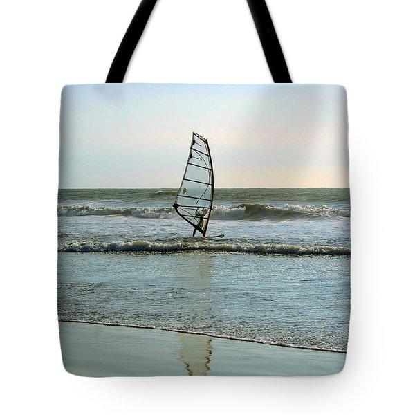 Windsurfing Tote Bag by Ben and Raisa Gertsberg