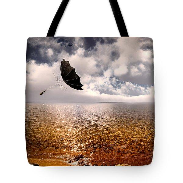 Windy Tote Bag by Bob Orsillo