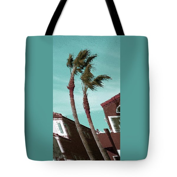 Windy Day By The Ocean  Tote Bag by Ben and Raisa Gertsberg