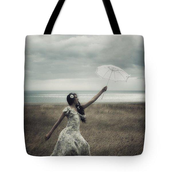 Windy Tote Bag by Joana Kruse