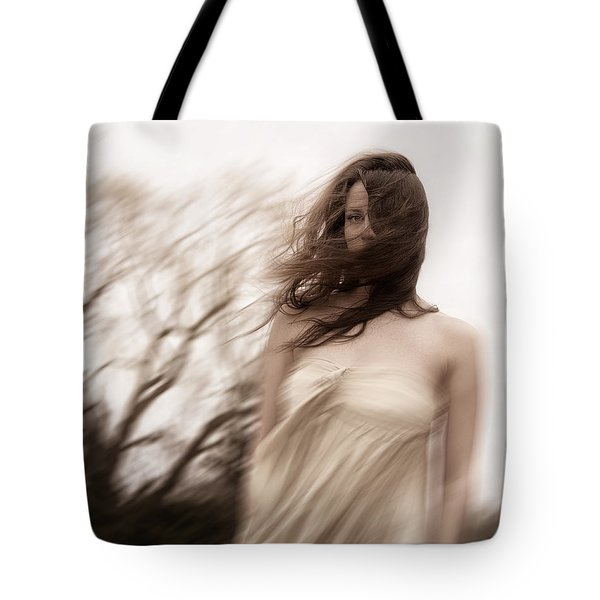 Windy Tote Bag by Margie Hurwich