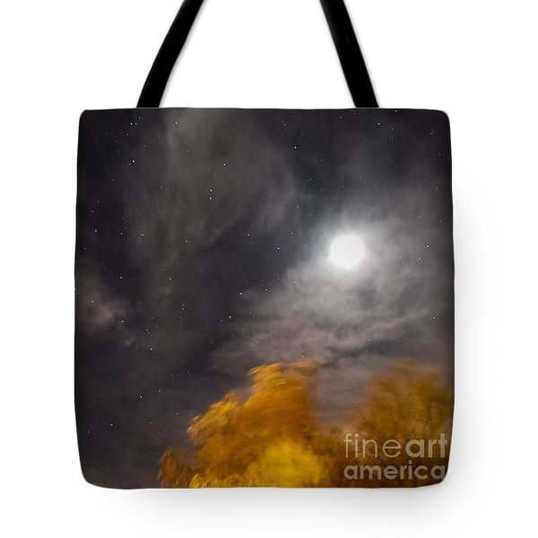 Windy Night Tote Bag