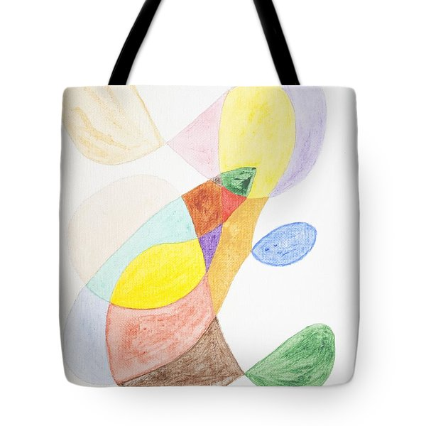 Tote Bag featuring the painting Windy  by Stormm Bradshaw