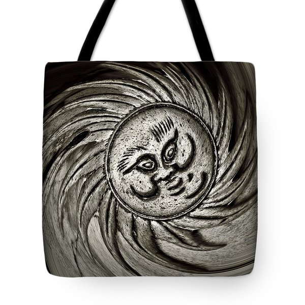 Windy Sun  Tote Bag by Chris Berry