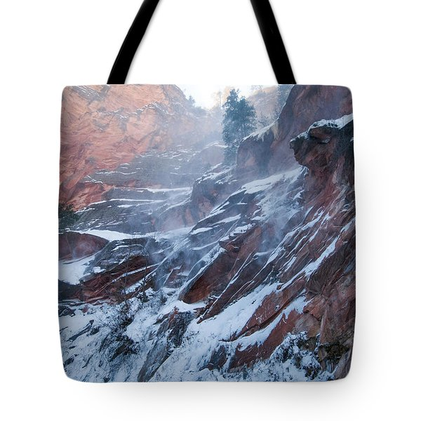 West Fork Windy Winter Tote Bag