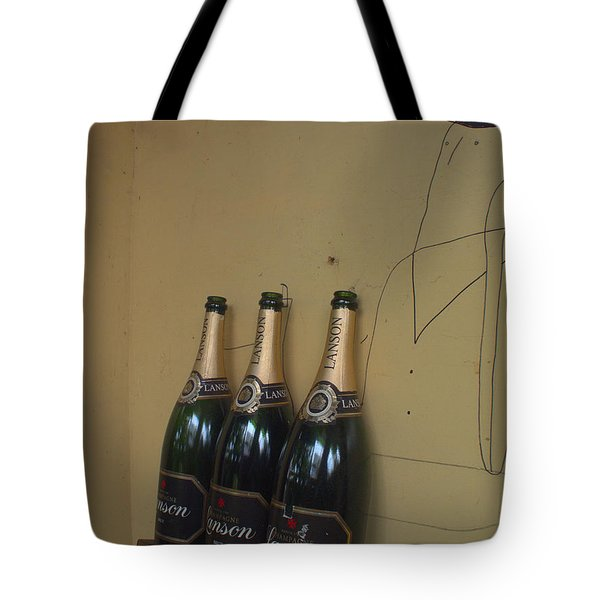 Wine And A Man Tote Bag