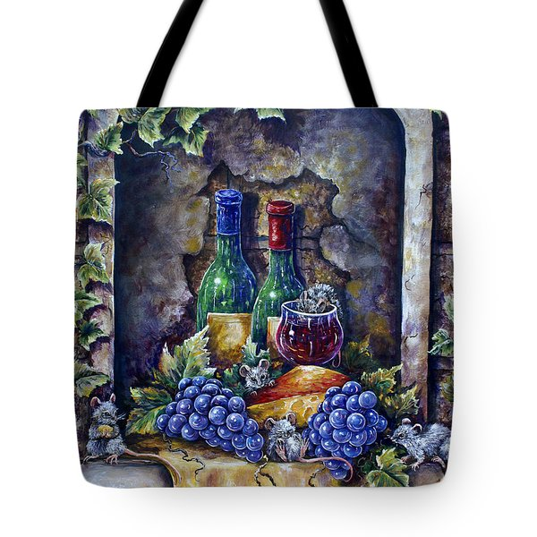 Wine And Cheese Social Tote Bag