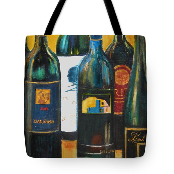 Wine Bar Tote Bag