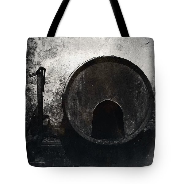 Wine Barrel Tote Bag