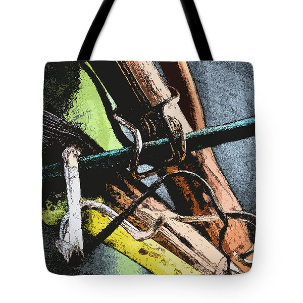 Wine Branches Tote Bag