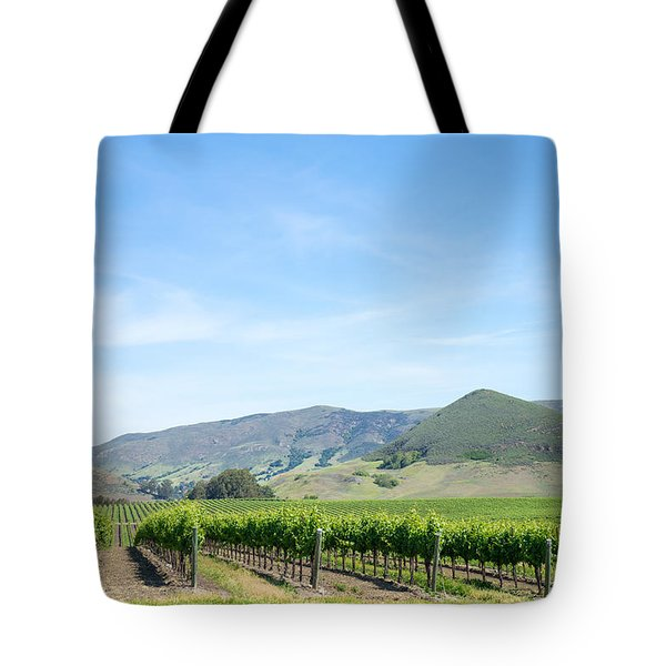 Wine Country Edna Valley Tote Bag