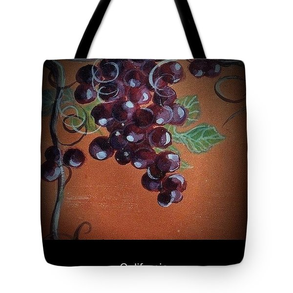 Wine Country Poster 1 Tote Bag by Andrew Drozdowicz