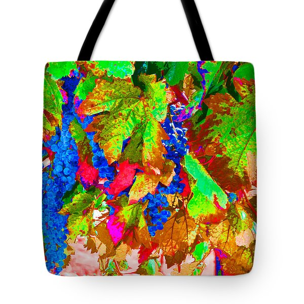 Tote Bag featuring the photograph Wine In Time by David Lawson