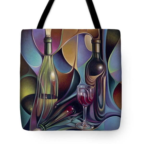 Wine Spirits Tote Bag