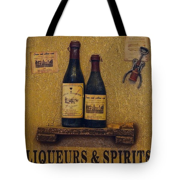Wine Time Tote Bag by Frozen in Time Fine Art Photography