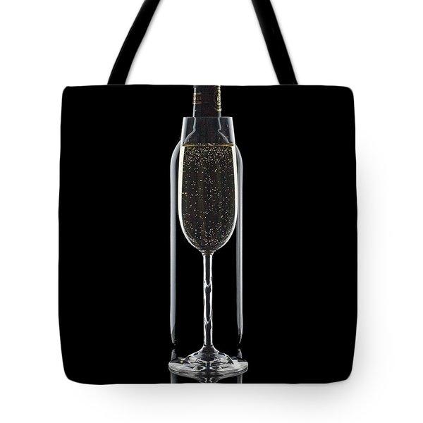 Wine Tote Bag by Tom Mc Nemar
