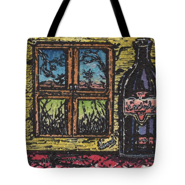 Wine With A View Tote Bag