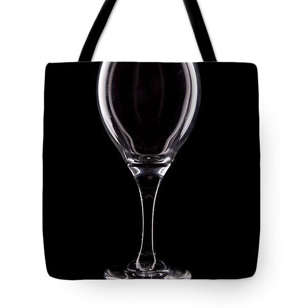 Wineglass Tote Bag by Tom Mc Nemar