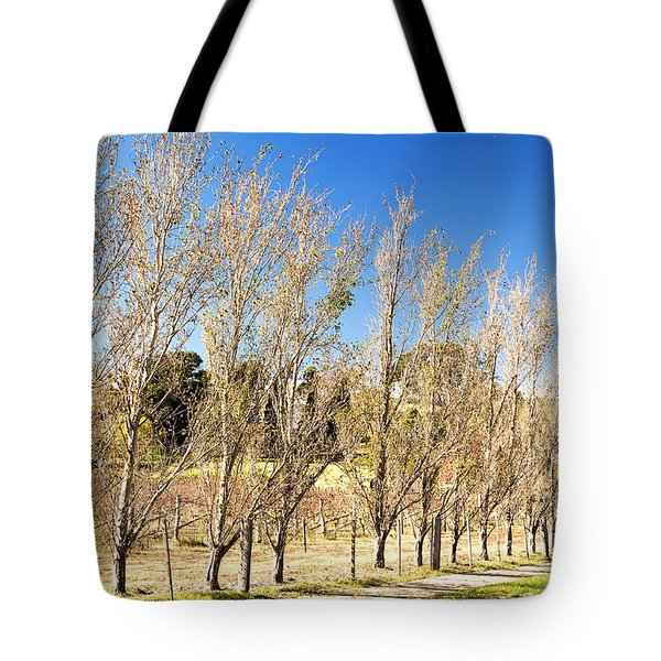Tote Bag featuring the photograph Winery by Yew Kwang