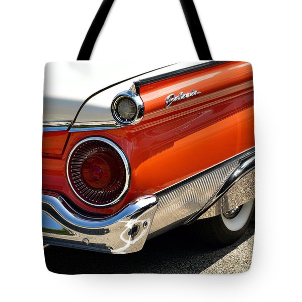 Wing And A Skirt - 1959 Ford Tote Bag