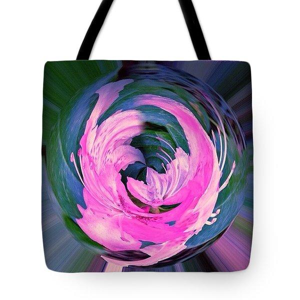 Winged Azalea Tote Bag