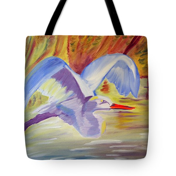 Winged Creation Tote Bag